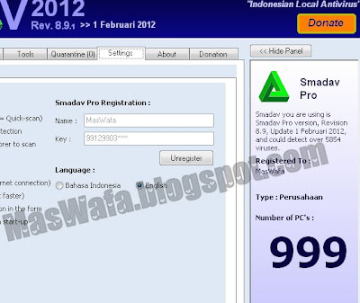 Smadav Pro Rev 8.9 2012 Full Serial Crack Keygen Mediafire MasWafa