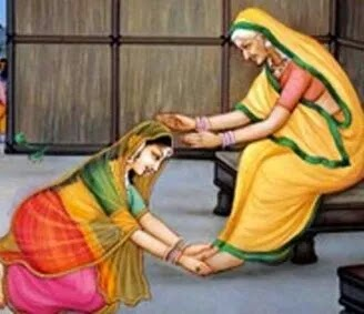 why touch the feet of elders, Do you agree to touch elders feet, touching the feet a tradition , INdian culture's disadvantages