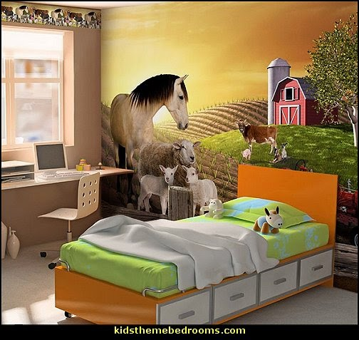 Farm Full Wall Mural
