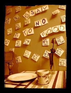 No quieres ni oír hablar de la comida