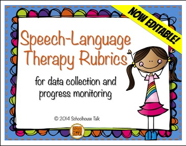 https://www.teacherspayteachers.com/Product/Speech-Therapy-Rubrics-for-data-collection-and-progress-monitoring-1197191