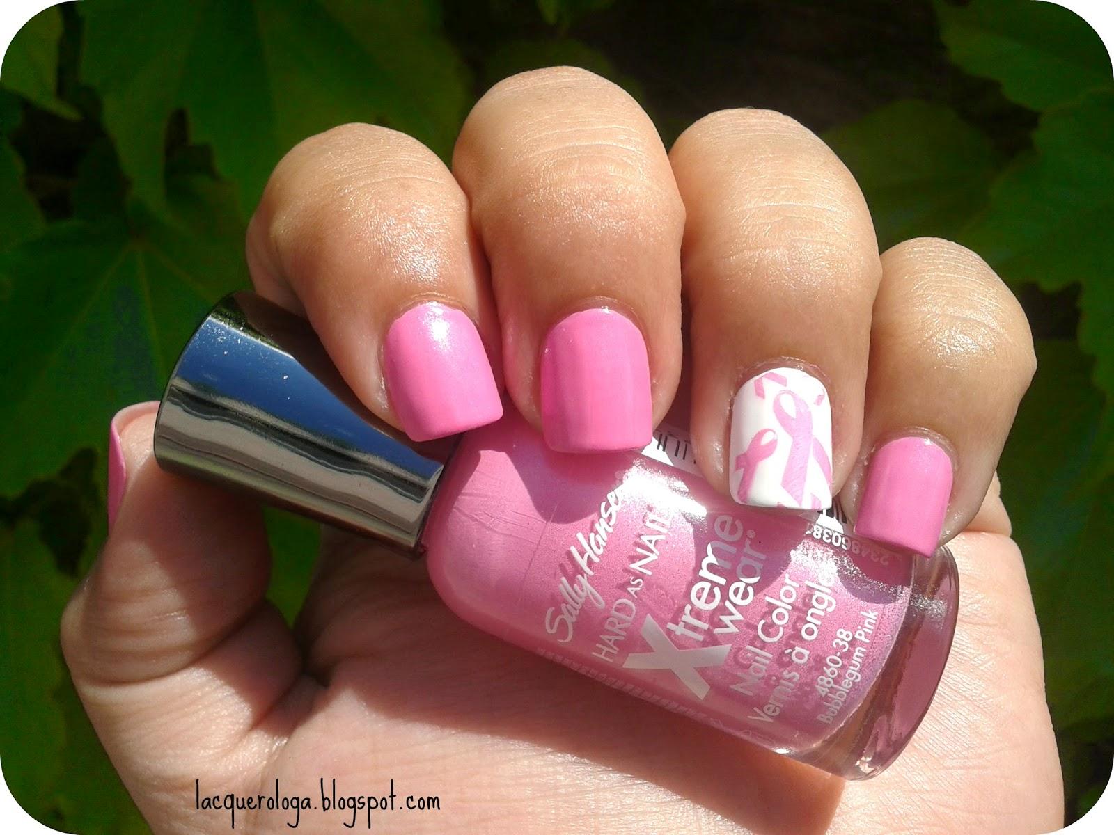 Lacquerologa: [Esmaltes] Bubblegum pink de Sally Hansen