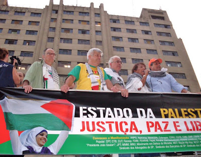 Ato histórico em São Paulo pelo Estado da Palestina Já - foto 10