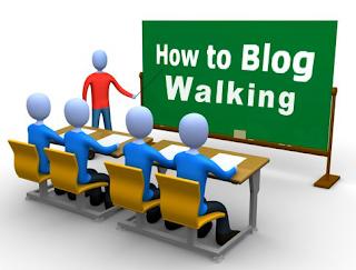 Teknik Bagaimana Melakukan Blog Walking Yang Baik, Benar, dan Efektif, Ada 2