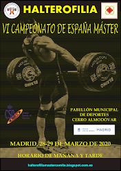 VI Campeonato España Halterofilia Máster: