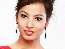 Actress Riju Shrestha