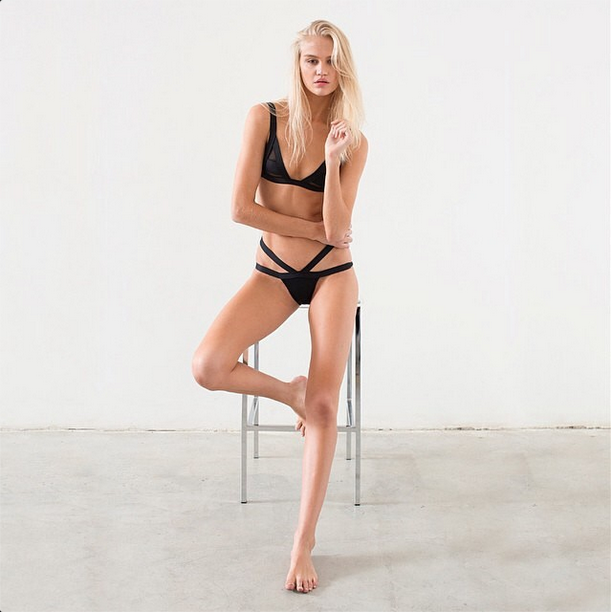 Sponsored Post Fierce Simplicity Swimwear Beconing Lola