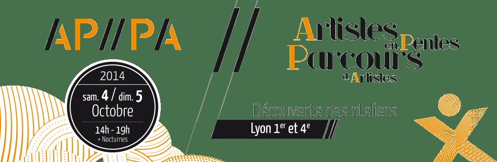 APPA Artistes en Pentes, Parcours d'Artistes à Lyon. Découverte des créateurs.
