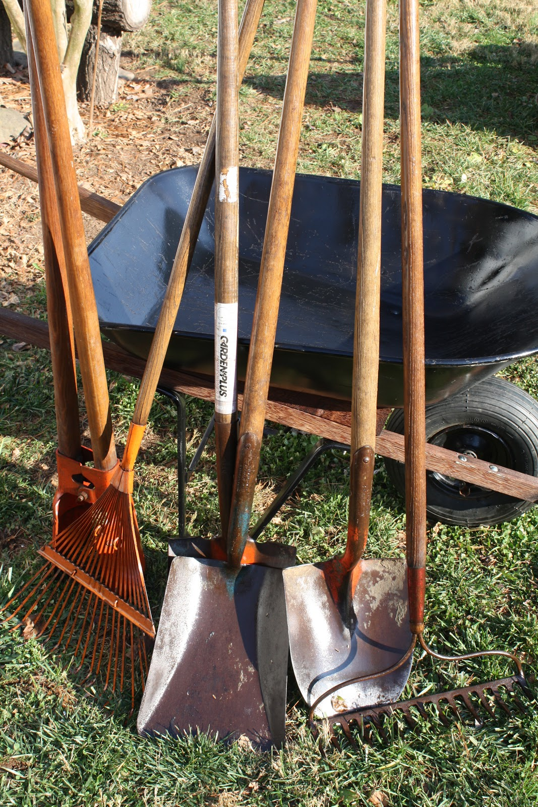 The redeemed gardener garden tool maintenance 101 for Garden maintenance tools