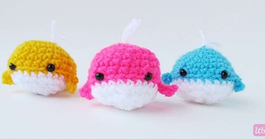 {Amigurumi Whale} - Little Things Blogged
