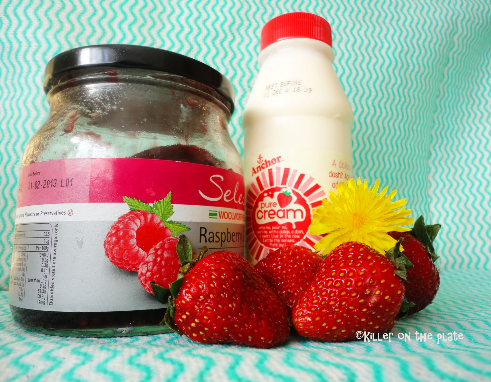 recipe for vegan eggless strawberry ice cream