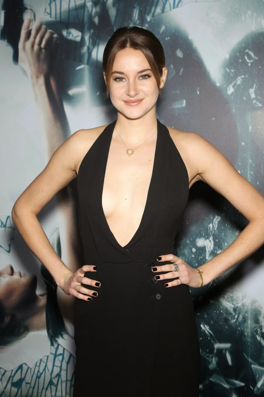 Actress @ Shailene Woodley - 'Insurgent' Premiere in New York City
