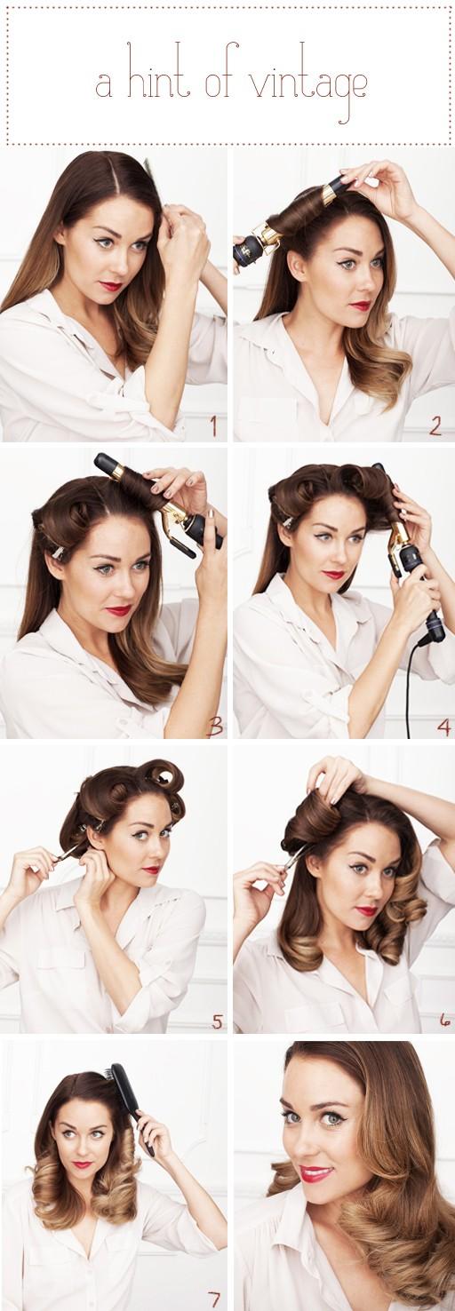 Saç Modelleri ( Aşamalarıyla)