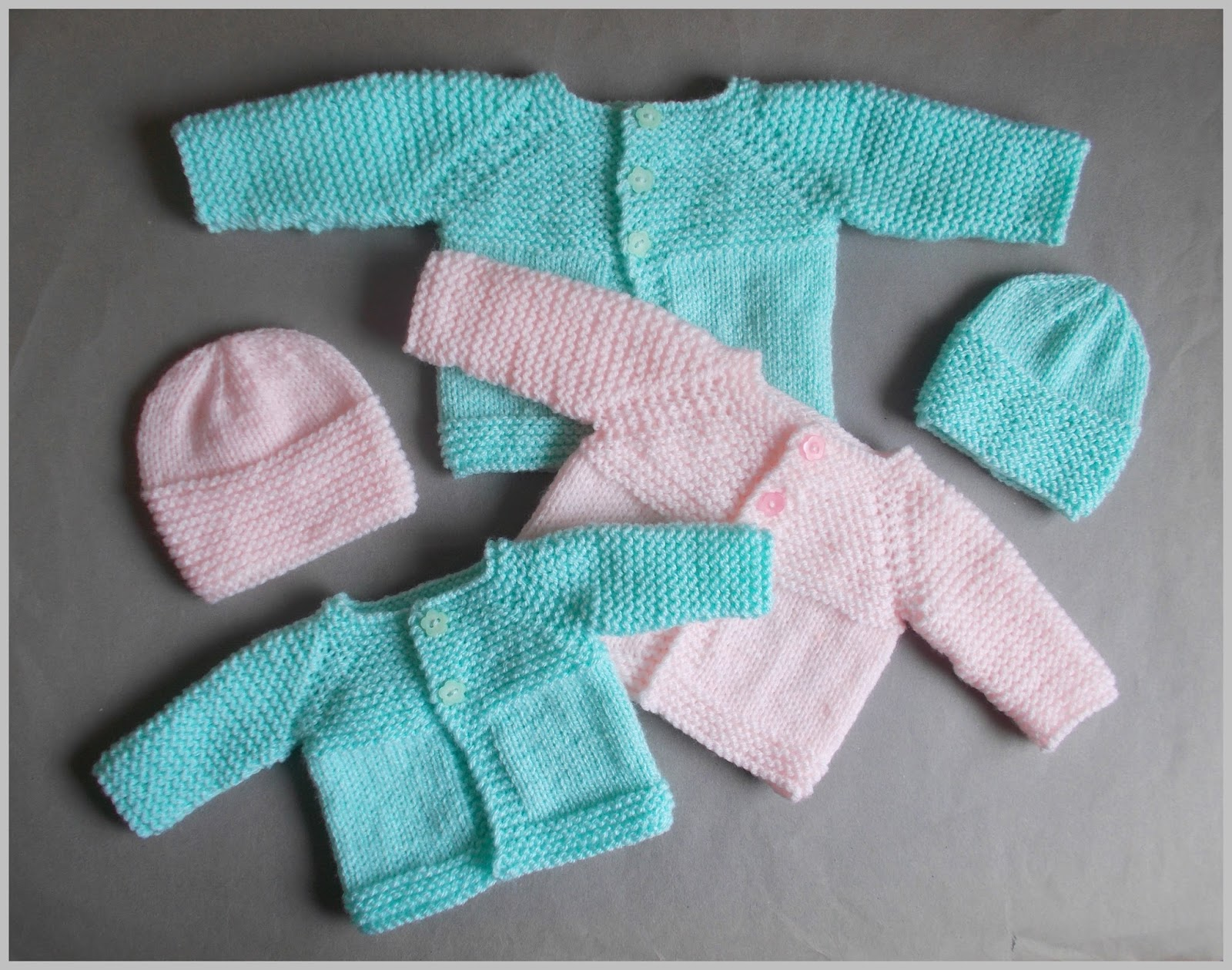 Knitting Patterns For Very Premature Babies : mariannas lazy daisy days: Little Babbity - Premature Baby Set