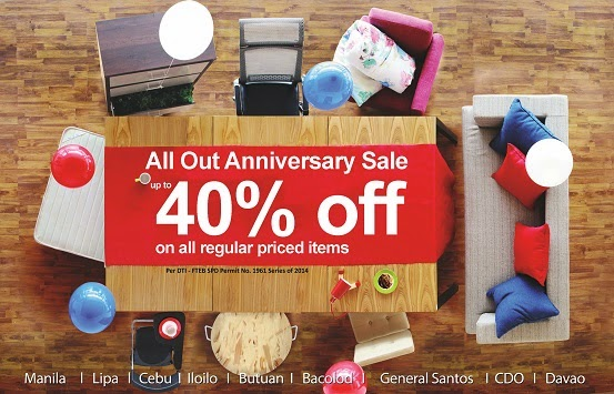 Manila life mandaue foam all out anniversary sale up for Affordable furniture 43rd