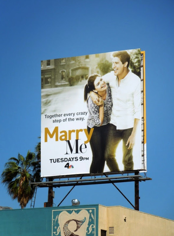Marry Me sitcom premiere billboard