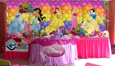 Mesas decoradas de princesas imagui - Decorar mesas para eventos ...