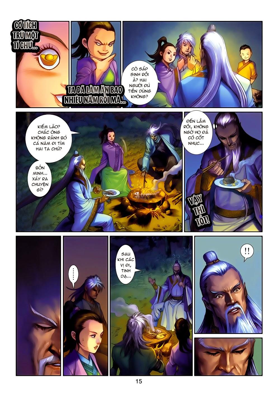 Thần Binh Tiền Truyện 4 - Huyền Thiên Tà Đế chap 14 - Trang 15