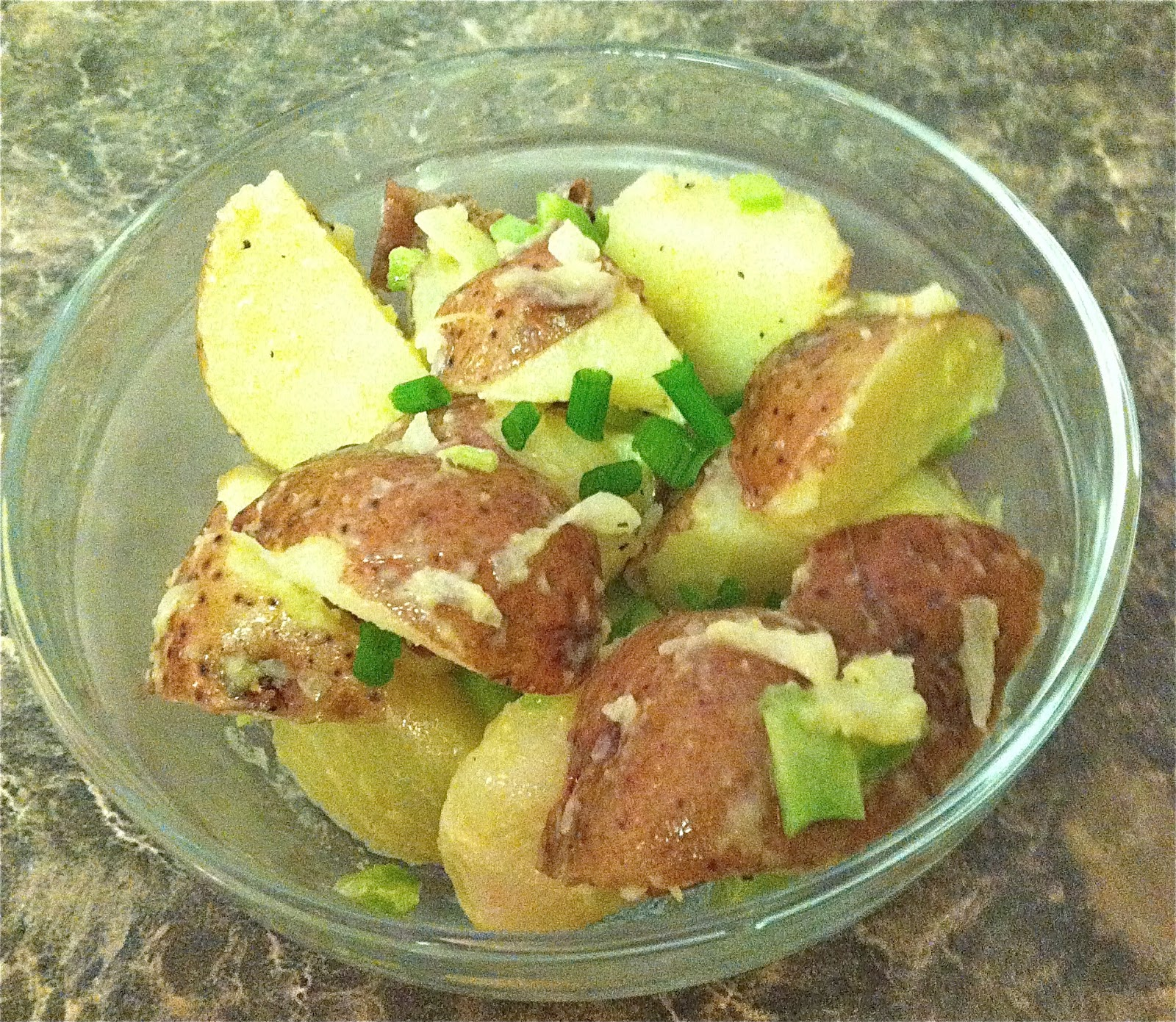 Holly B Baking : Healthier Baby Red Potato Salad