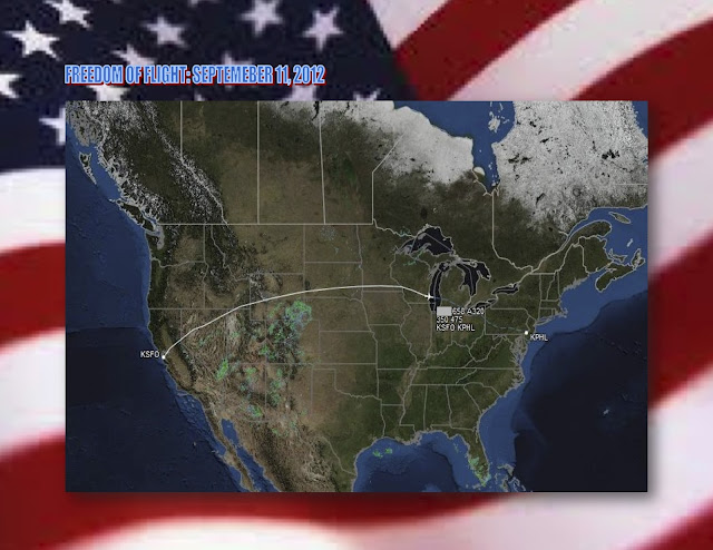 freedom flight 9/11