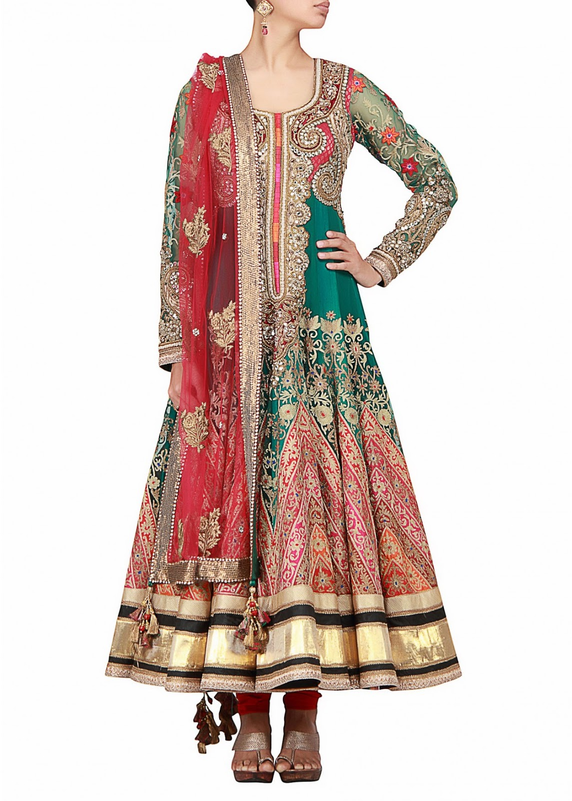 indian designer long anarkali suits collection latest