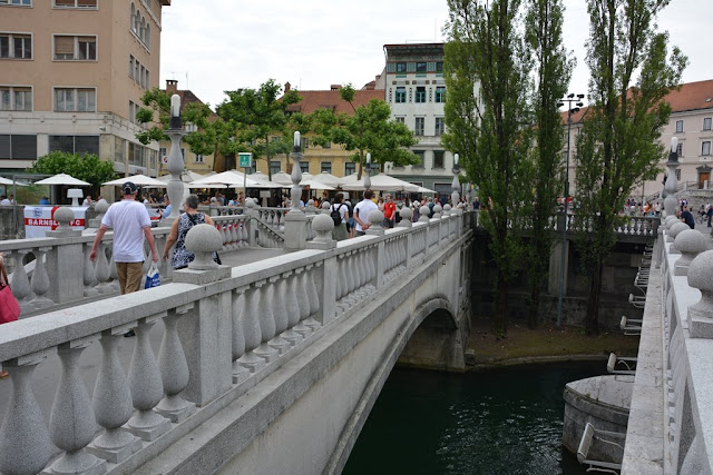 Ljubljana three bridges