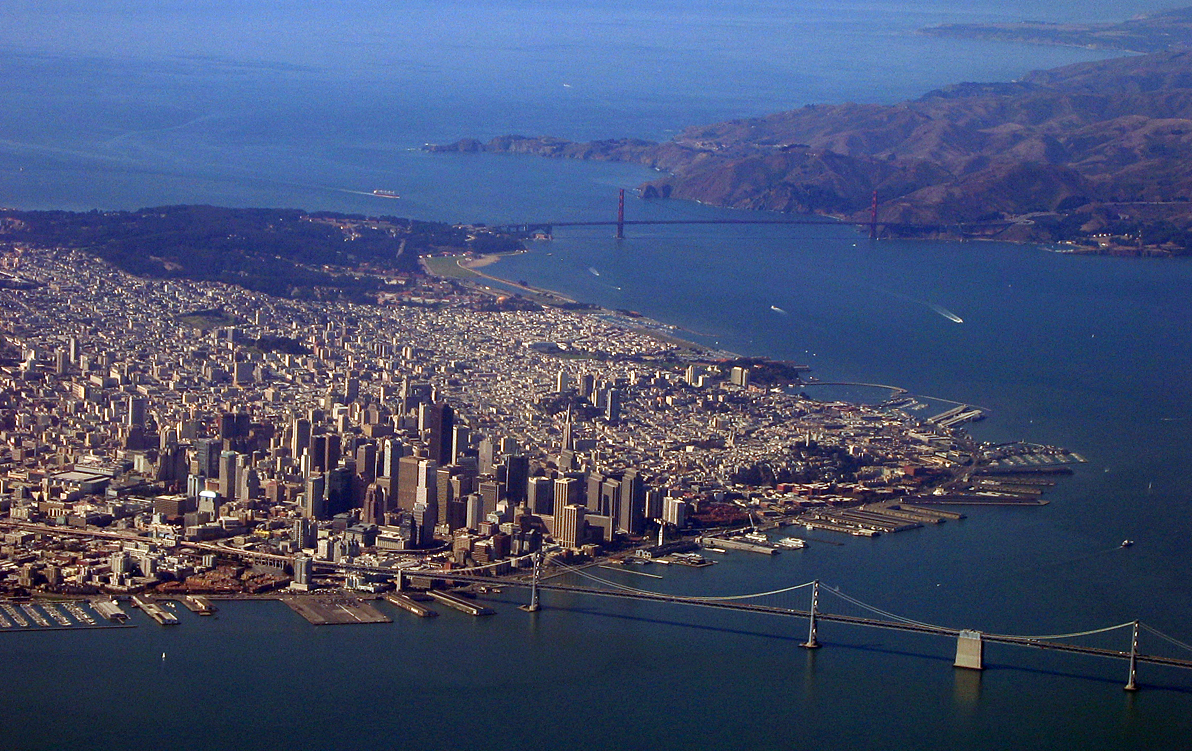 Retiring Guy Aerial View Of The San Francisco Bay Area
