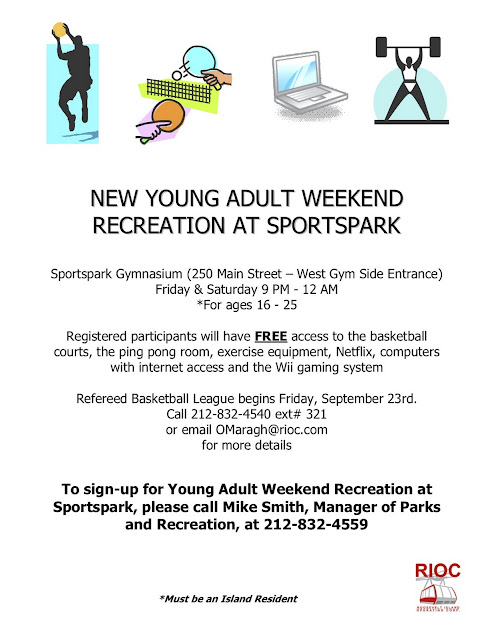 The Young Adult Weekend Recreation ...