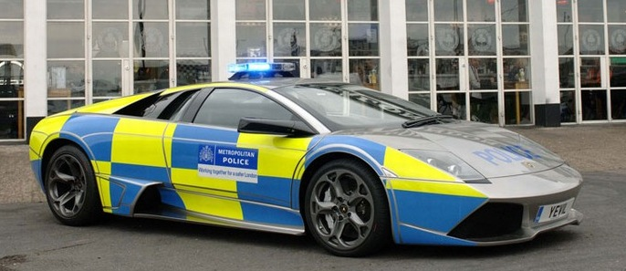 The Auto World Police Cars