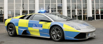 Lambo Police Car