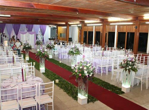 PINK FAMA Decoração de Casamento (IGREJA)