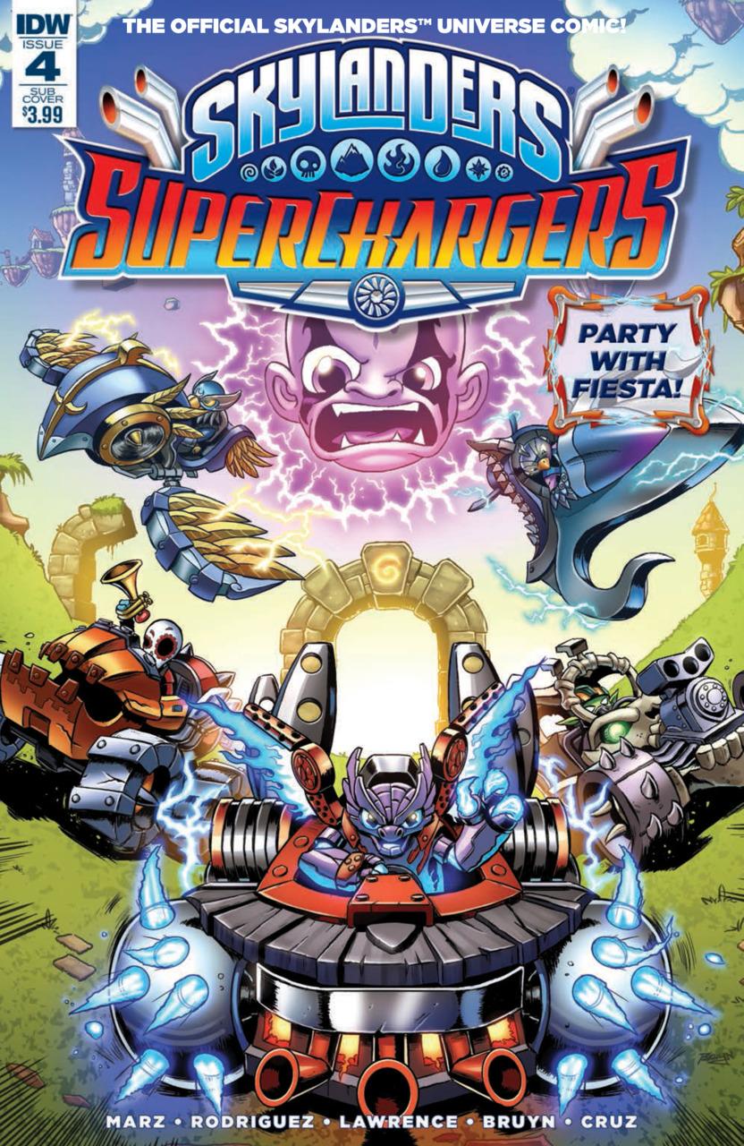 Skylanders Variant Cover
