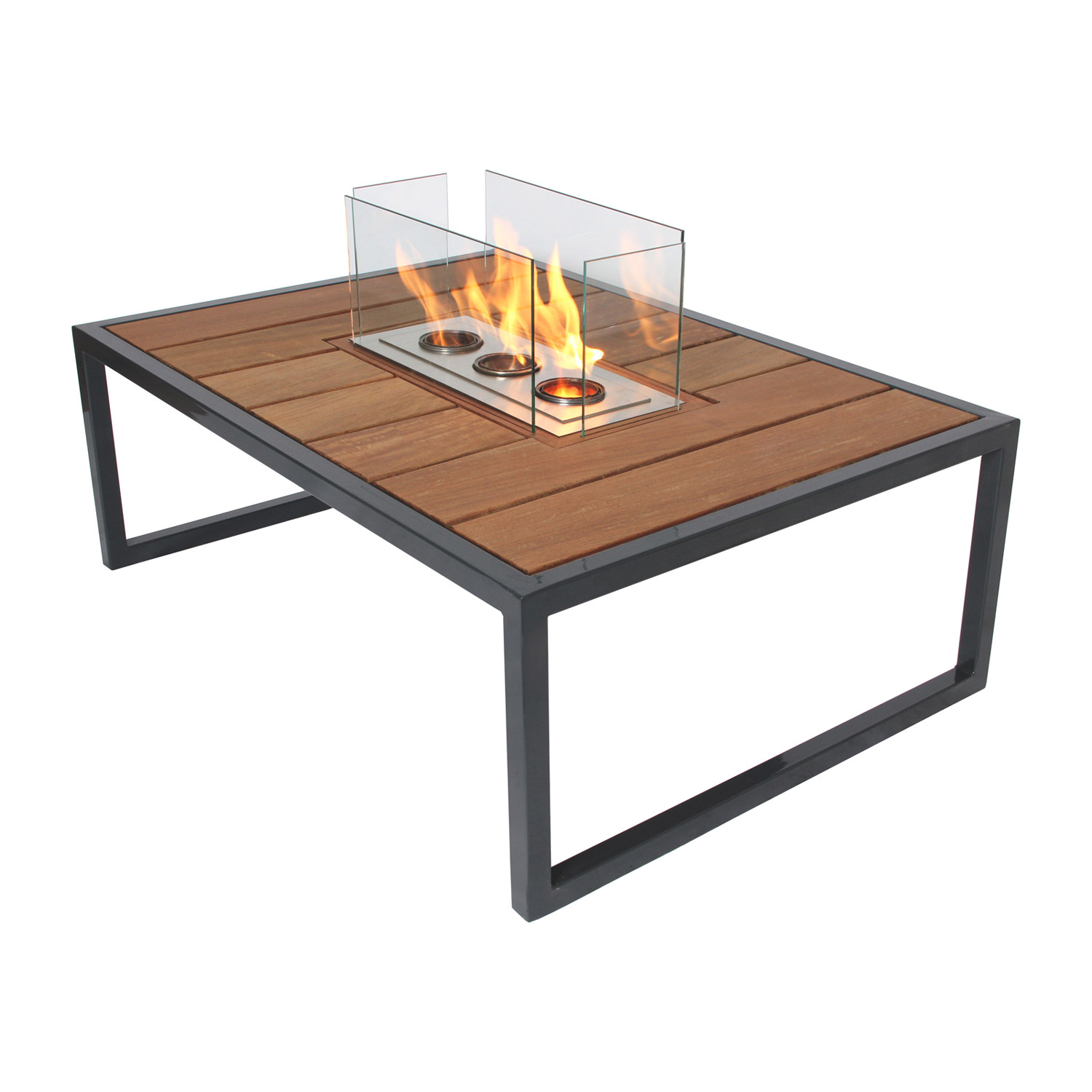Ipe. Fire Table