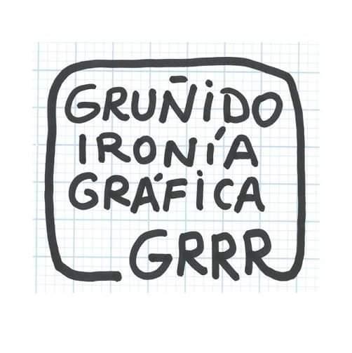 Gruñido, ironía gráfica GRRR