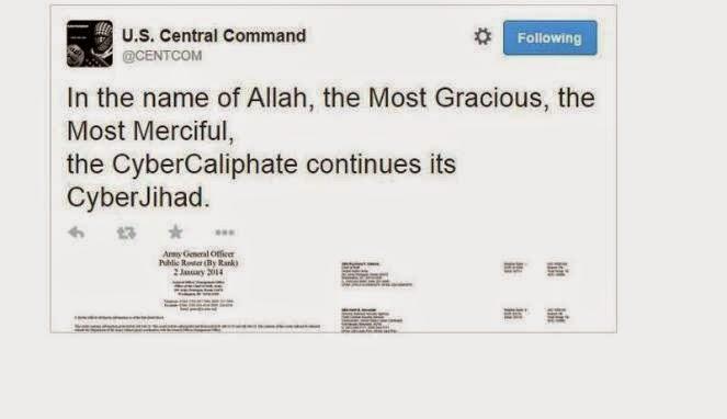 Hacker ISIS Bobol Twitter dan YouTube Militer Amerika