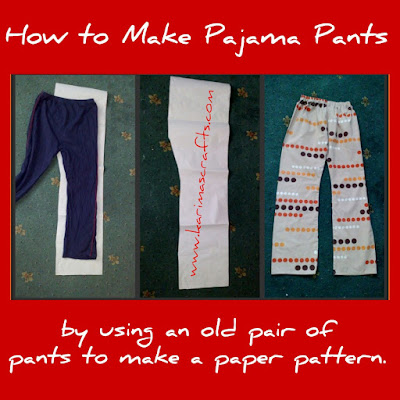 pajama pants tutorial muslim blog