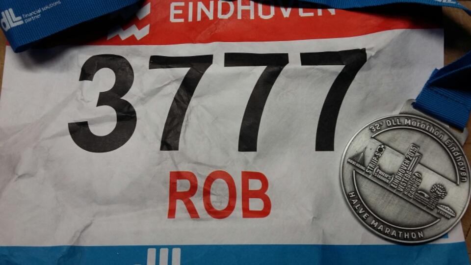 sportblog rob: Halve Marathon van Eindhoven