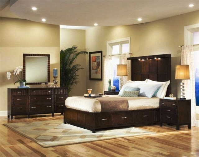 Best wall paint colors for bedroom for Paint colors for bedroom with dark furniture