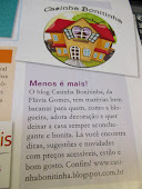 Casinha Bonitinha  na Revista  Decore Sua Casa
