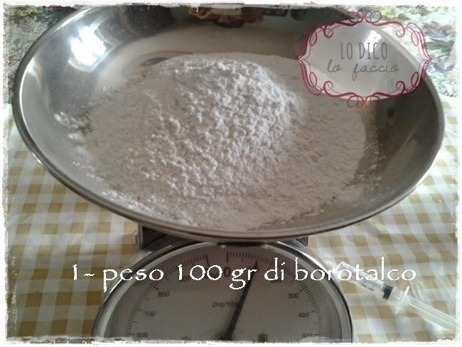 Favorito Pasta di borotalco per fare i gessetti: la ricetta [e cestino di  RC33