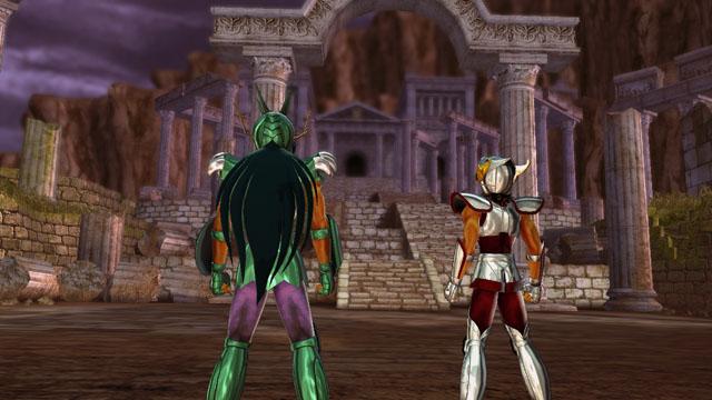 Shiryu y Seiya