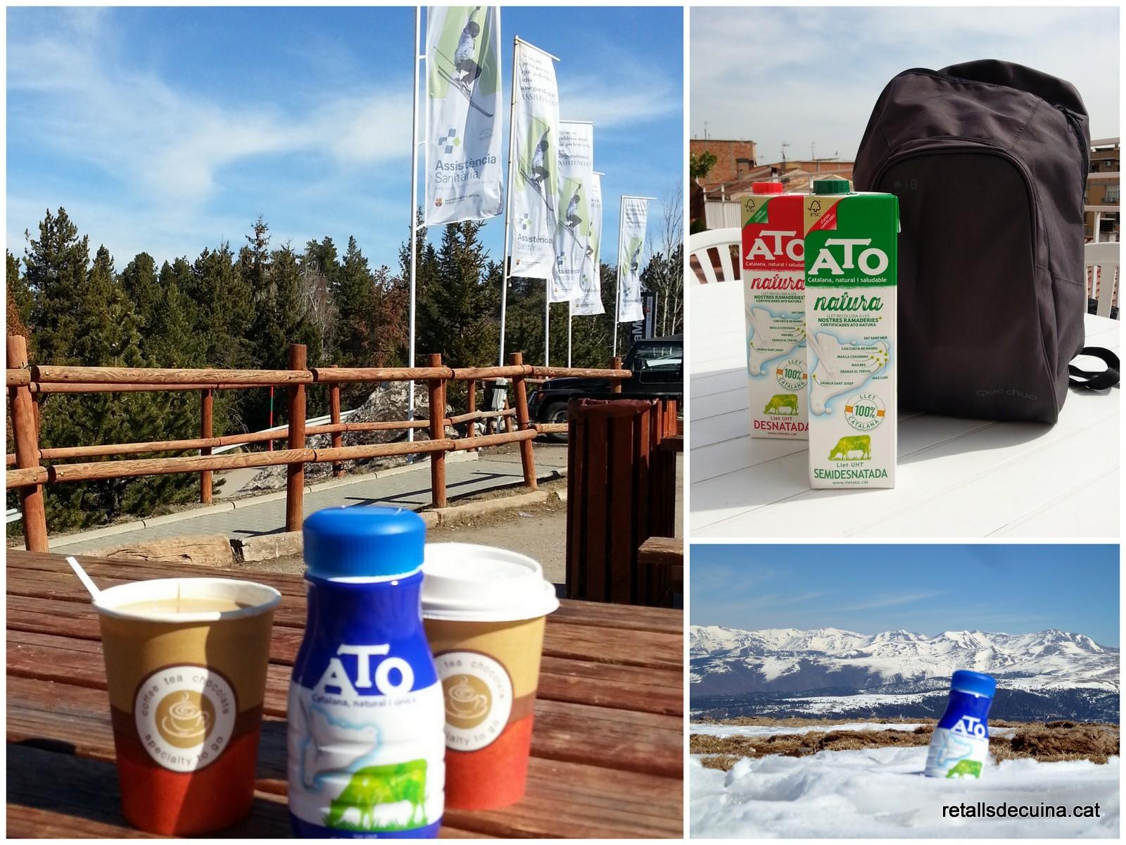 Esquiada amb ATO Natura