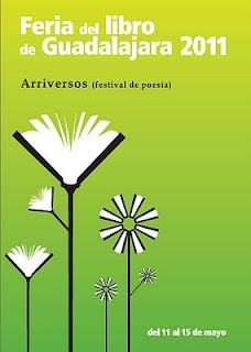 Cartel, arriversos, feria del libro de Guadalajara