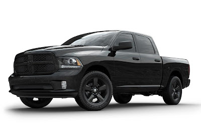Ram 1500 Black Express Crew Cab (2013) Front Side