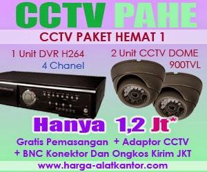 Harga CCTV Termurah