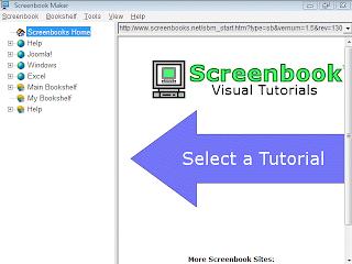 Screenbook Maker: Membuat, Publish dan Mencetak Tutorial Komputer