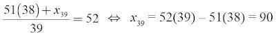 substitusi persamaan rumus rataan hitung