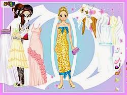 Váy dài, game ban gai