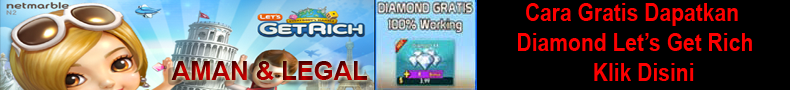 Cara Dapatkan Diamond Get Rich Gratis