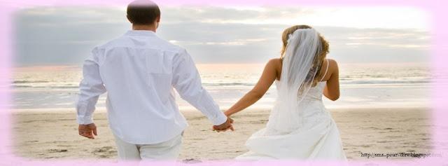 Modèle Sms pour féliciter mariage